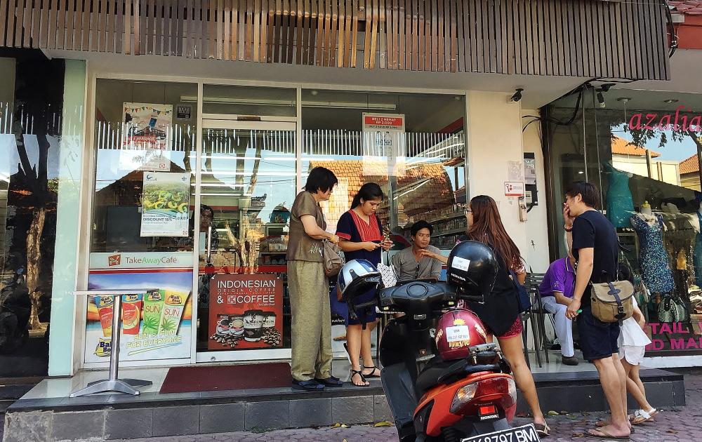 インドネシアのコンビニ 特徴