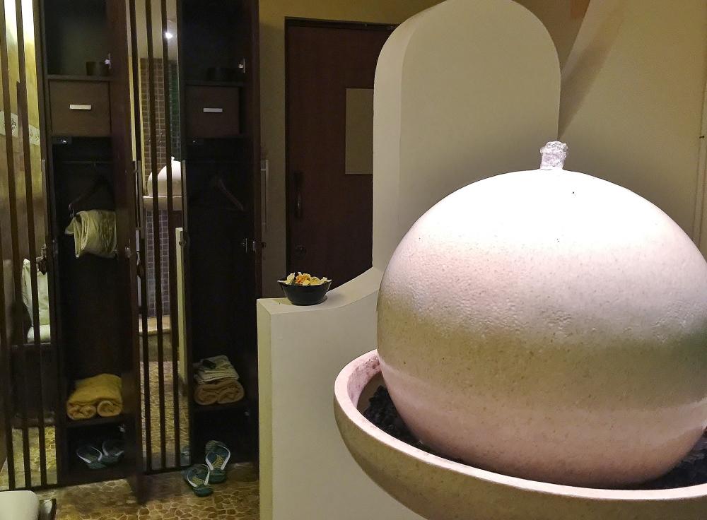マルタティラールスパ 更衣室 シャワー