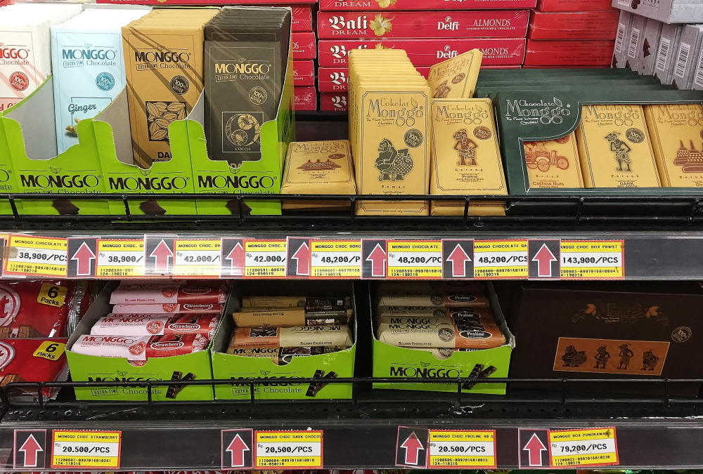 バリ スーパーマーケット チョコレート