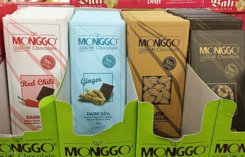 バリ スーパーマーケット チョコレート モンゴ 値段