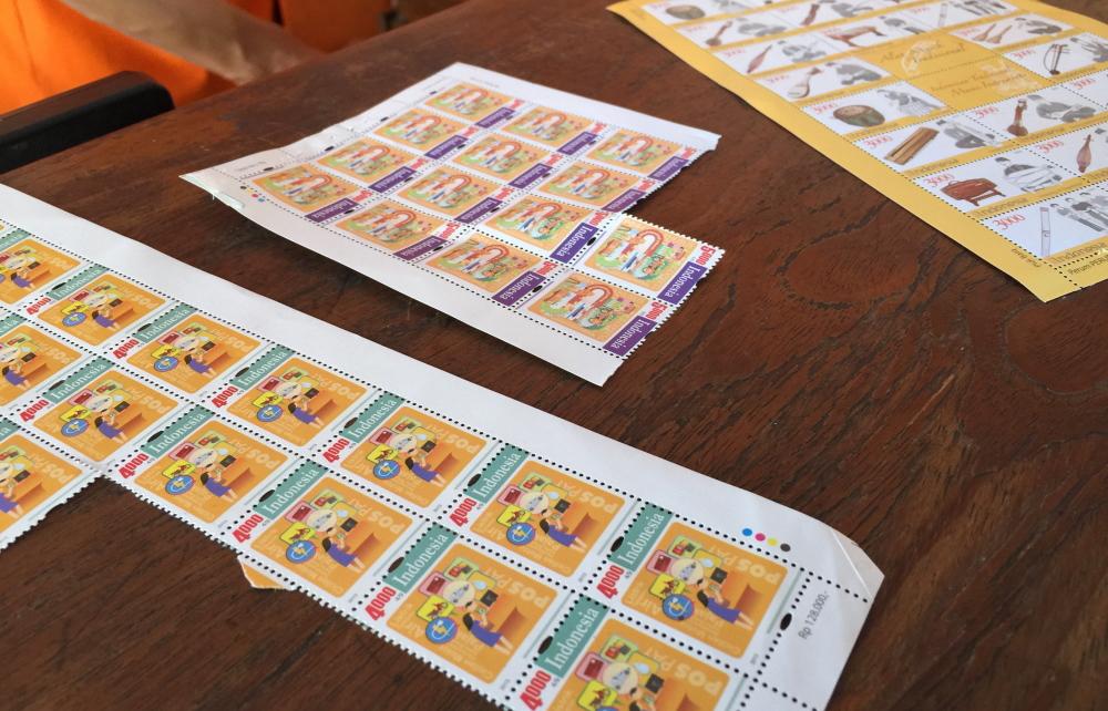 インドネシアの切手