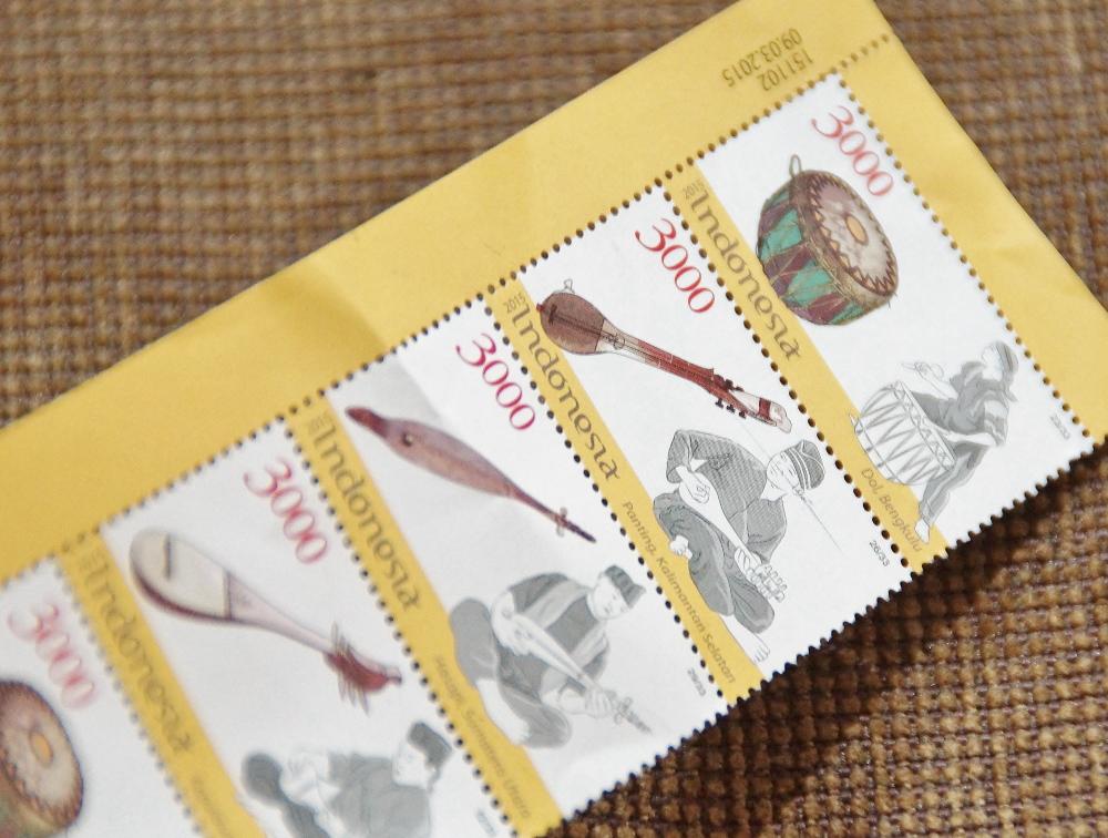 インドネシアの切手 3000ルピア