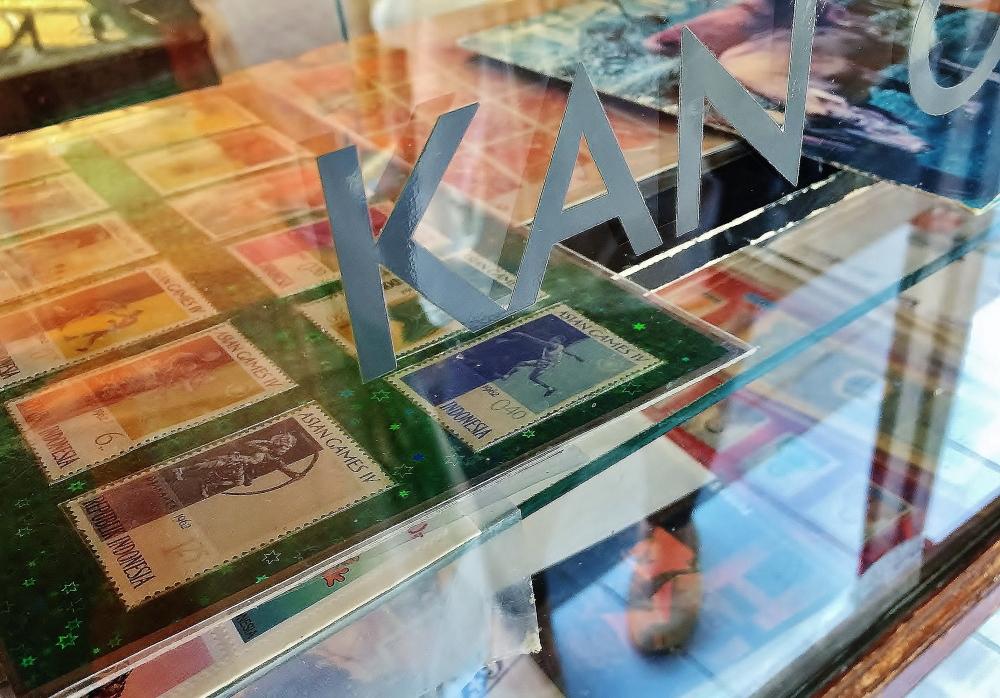 インドネシアの記念切手
