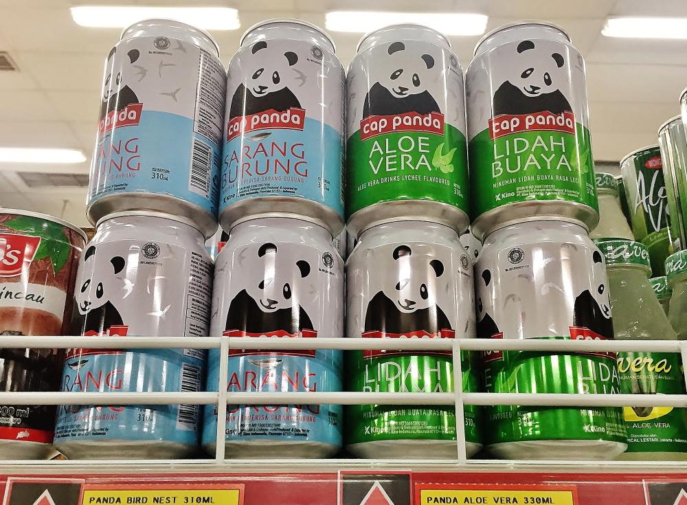 cap panda バリ 飲み物