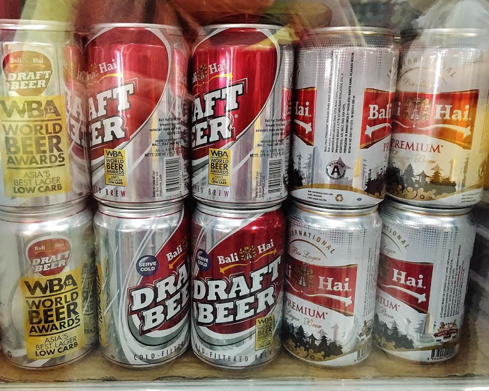 インドネシア バリ ビールの種類