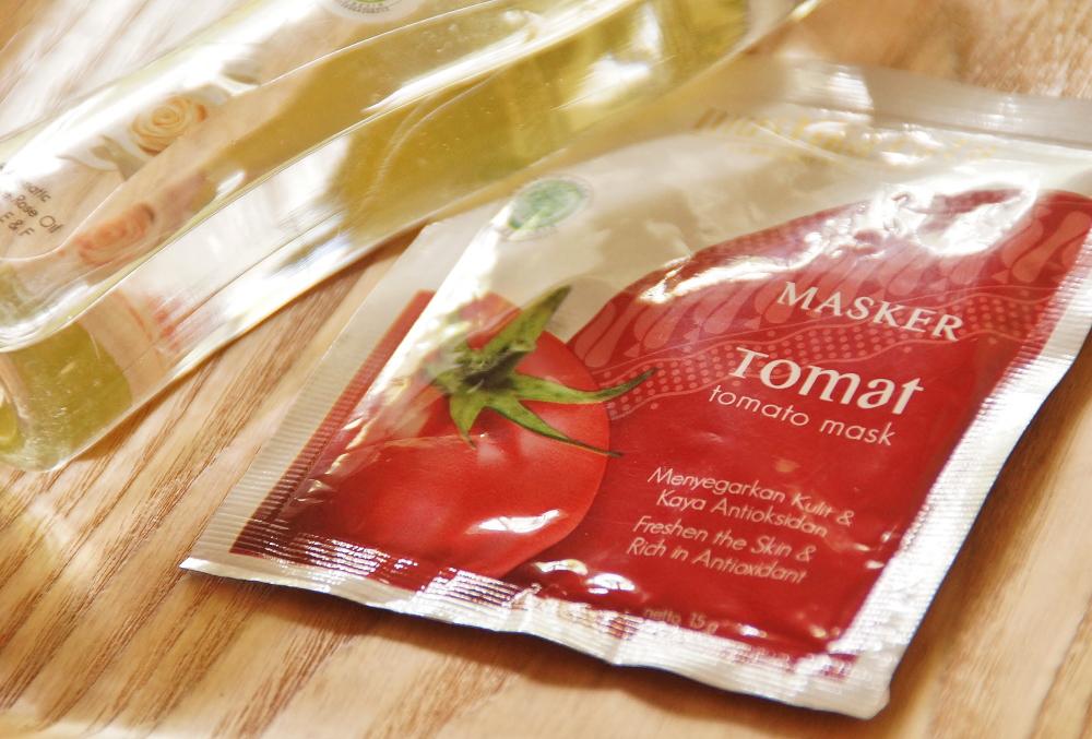 Mustika Ratu MASKEAR TOMATO 使い方