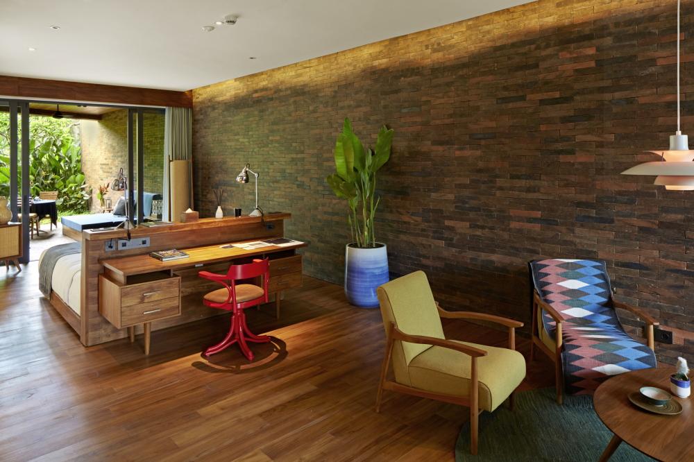 バリ島 ホテル カタママ 客室 写真